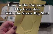 Cómo: Cortado con tintas sus tirón tarjetas usando la Big Shot