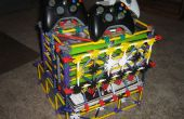 Xbox 360 consola juego de controlador y Guía / soporte magizine