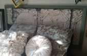 Cabecera de azulejos de techo