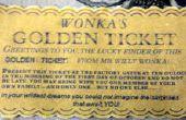 Cómo hacer un objeto encantado (el billete de oro de la fábrica de Chocolate)