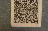 QR-Code Cross Stitch parche