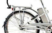 Eléctrica bicicleta parpadeando cola-LED con 5V a gama de voltaje de entrada 48V