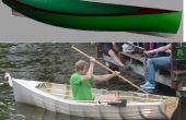 Fabulosa tu propio bote de barato tubería de pvc, tela de la tienda y contrapiso ($70!)