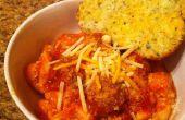 Comidas fácil #1 salchicha italiana bolas y Tortellini de queso 3