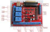 6 eje CNC MACH3 grabado interfaz Breakout Board USB PWM husillo con ASKPOWER A131 serie