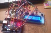 Indicador de medición de temperatura en 16 x 2 LCD con el ajuste de la temperatura superior y límite inferior para ADVERTENCIA utilizando Arduino