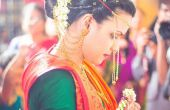 5 maneras de preservar su Sari (novia)