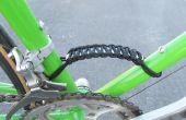 Paracord bicicleta marco de manija