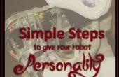 Pasos para dar tu personalidad de Robot