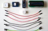 Arduino Nano: Mostrar ubicación GPS en I2C 2 X 16 LCD pantalla con Visuino