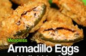 Huevos de armadillo (jalapeños rellenos)