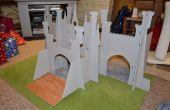 Castillo de hadas (casa de muñecas plegable)