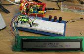 Conducir un HD44780 Mostrar utilizando un registro de desplazamiento y una frambuesa Pi