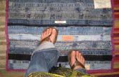 Del dril de algodón reciclado: Estera del piso de pretinas y de entrepierna