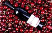Receta de cerezas casera vino
