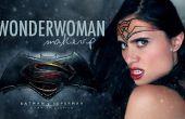 MAQUILLAJE de mujer maravilla (Batman vs Superman)