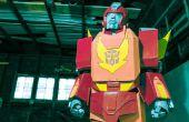 """Cómo hacer un Transformers """"Hot Rod / Prime Bumblebee"""" traje"""