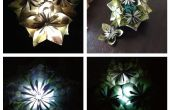 Kusudama luz (lámpara/centro de mesa)