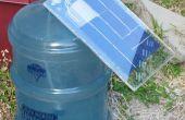 Biorreactor de algas con energía solar