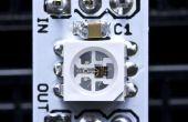 Poco golpes paso a paso: Arduino control de LEDs RGB de WS2812B, WS2811 y WS2812