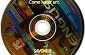 Savonius hacer uno de viejos CDs DVDs