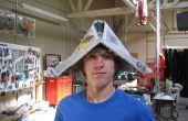 Cómo construir tu propio sombrero de periódico
