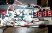 De contador para el reloj con RTC DS-1302
