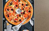 Cómo hacer un cortador de PIZZA de HDD