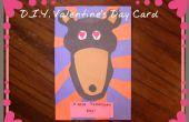 Tarjeta del día de San Valentín de bricolaje