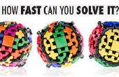 7 x 7 x 7, bola del engranaje y 2 x 2 o el hermano pequeño de Rubik