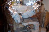 Tortilla bolsa instrumento máquina cubierta