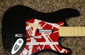 Pintar tu guitarra de la banda de Rock