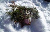 Cómo hacer un abrigo de nieve