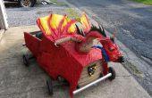 Medieval dragón Soapbox Derby coche