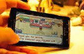 Apague el teléfono en un Game Boy