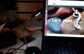 La lámpara de $ tienda de hacking en una lámpara usb