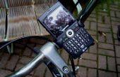 Bicicleta rápida y sucia teléfono Monte