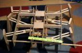 Hexápodo robótico madera