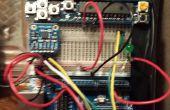 Captura de movimiento con un acelerómetro de Arduino con XBee comunicaciones