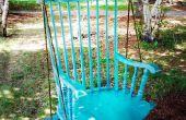 Re-purposed silla columpio