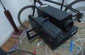 Convertir un proyector de diapositivas DIA de 40 años de edad a un proyector decente DIY!