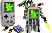 Domaster y Tetrawing - Boy & Tetris juego juego transformar robots!