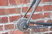 Reparación de una bicicleta de fibra de carbono