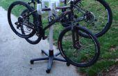 Bicicleta árbol (Cactus de PVC móvil) del balanceo