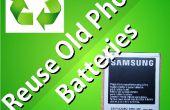 Reutilizar las viejas baterías de teléfono como Powerbank a (tierra día parte 1)