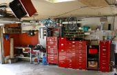 Garage - taller - herramientas - Reno y organización