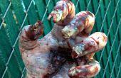 Papel higiénico rollo Zombie uñas