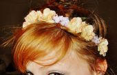 Diadema Floral de seda