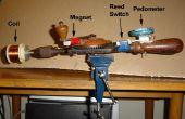 DIY taladradora de mano bobina de máquina de bobina con contador Digital
