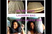 RECICLAR bolso del lavadero del viejo en la bolsa de ropa interior